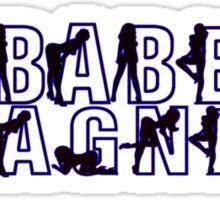 Babe Magnet Sticker