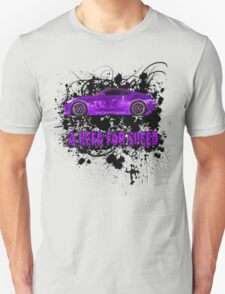 A NEED FOR SPEED(PURPLE) T-Shirt