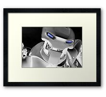 Coming Atcha Framed Print