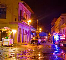Tlacotalpan Night by Skip Hunt