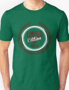 Limited Edition est.1976 Unisex T-Shirt