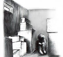 Alone - Sketch by Adam Stone