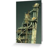 Grain Tower Greeting Card