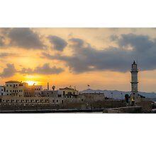 Chania Sunset II Photographic Print