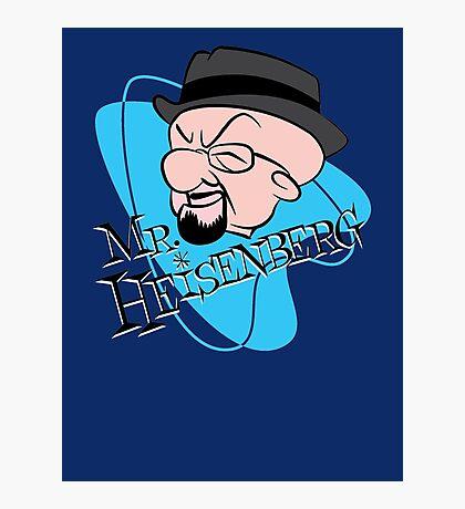 Mr. Heisenberg Photographic Print