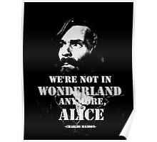 Charles Manson - Wonderland Poster