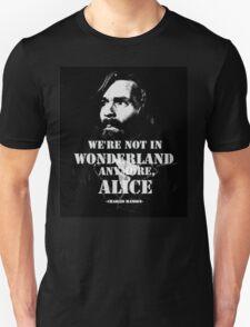Charles Manson - Wonderland Unisex T-Shirt