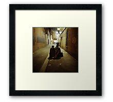 Laneway Gypsies Framed Print