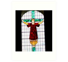 Something religious Art Print