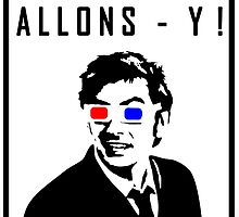 David Tennant Allons Y - Doctor Who Must Have by peetamark
