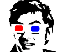 David Tennant Allons Y - Doctor Who Must Have Sticker