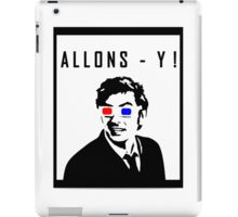 David Tennant Allons Y - Doctor Who Must Have iPad Case/Skin