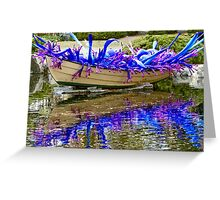 Splashes Of Color Greeting Card