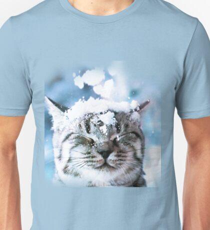 Snow Cat  Unisex T-Shirt