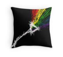 Dark Side of RedBubble Throw Pillow