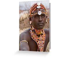 Samburu Greeting Card