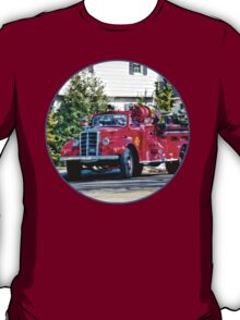 Old Fashioned Fire Truck T-Shirt