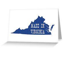 Made in Virginia Greeting Card
