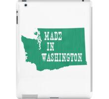 Made in Washington iPad Case/Skin