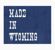 Made in Wyoming Kids Tee