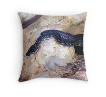 Diamond Python (Morelia spilota spilota)  Throw Pillow