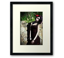 In a Secret Place Framed Print