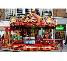 A little fun for the kids at Exeter, Devon UK Photographic Print