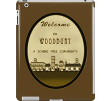 Welcome to Woodbury - TWD Nerdy Must Have iPad Case/Skin