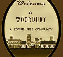 Welcome to Woodbury - TWD Nerdy Must Have by peetamark