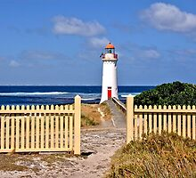 Picket Fence Views by Steven  Agius