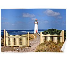 Picket Fence Views Poster