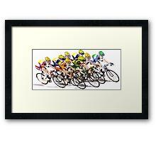 Tour de France Framed Print