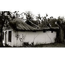 Collapsed Roof Photographic Print
