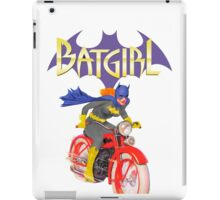 Batgirl on Batbike iPad Case/Skin