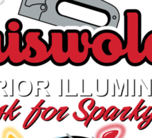 Griswold's Exterior Illumination Sticker