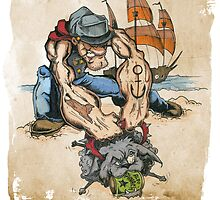Popeye and His Spinach by BKLOUNGE
