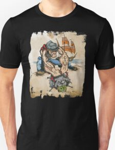 Popeye and His Spinach T-Shirt
