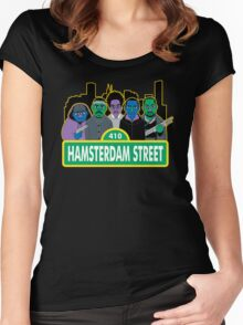 Hamsterdam Street Women's Fitted Scoop T-Shirt
