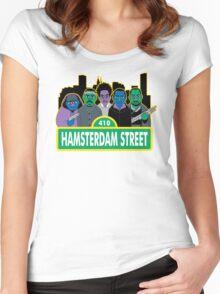Hamsterdam Street Women's Fitted Scoop T-Shirt