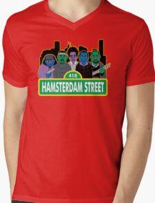 Hamsterdam Street Mens V-Neck T-Shirt