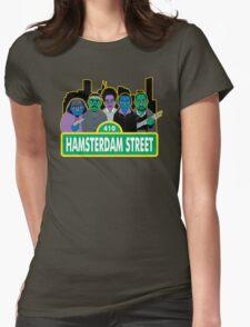 Hamsterdam Street Womens Fitted T-Shirt
