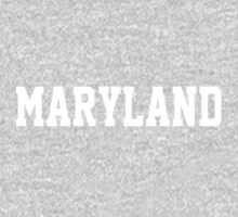 Maryland Jersey White Kids Clothes