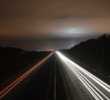 Motorway Light Trail by amyditchh