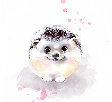 Cute Adorable Hedgehog  by ancapora