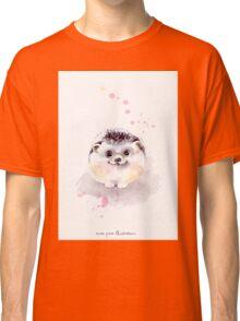 Cute Adorable Hedgehog  Classic T-Shirt