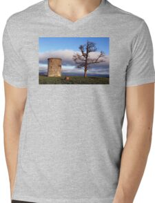 A Tree With A View Mens V-Neck T-Shirt