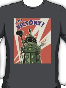 Daleks to the Victory - Doctor Who T-Shirt