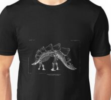 Restoration of Stegosaurus Ungulatus - The Dinosaurs of North America Vol 16 Marsh Othniel Charles 1831-1899 Page 325 Unisex T-Shirt