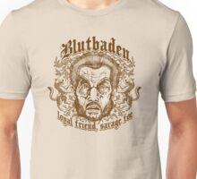 Blutbaden Sepia Unisex T-Shirt