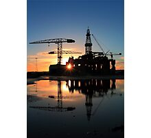 Blackford Dolphin Sunrise Photographic Print